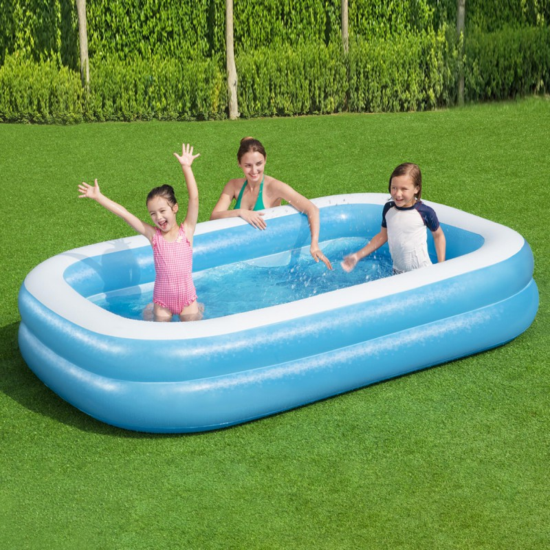 piscina inflable rectangular 262x175x51cm ferreter a