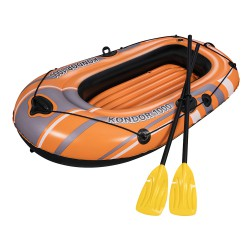 Flotador Barca Inflable 155x93x30 cm. Con Remos