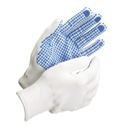 "Guante Nylon Puntos Pvc Azules 6"" (Par)"
