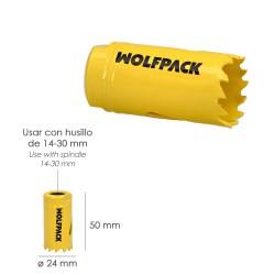 Buzo Trabajo Wolfpack Azul Talla   66