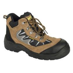 "Guante Nylon Puntos Pvc Azules 7"" (Par)"
