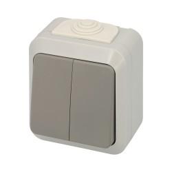 Muelle Puerta Wolfpack Aluminio Anodizado Plateado (Blister 1 Pieza)
