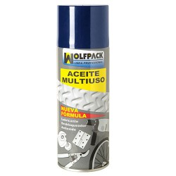 Aceite Multiuso Triple Accion Wolfpack Spray  520 gr.
