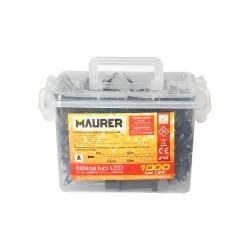 Trinquete cinta de amarre 2 metros con 2 Ganchos (Blister 2 piezas)