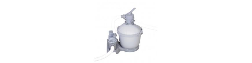 Hidrobombas y filtros piscinas